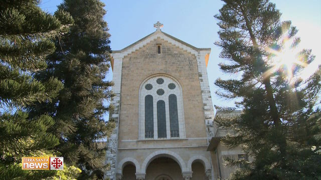 Solemn Mass at the Latrun Monastery to celebrate its 125th anniversary